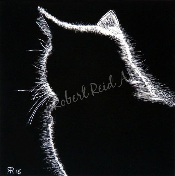 """""""Sun Cat"""" - SOLD"""