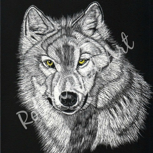 """""""The Grey Wolf"""" - SOLD"""