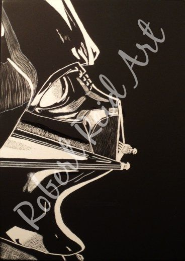 """""""Welcome to the Dark Side"""" - SOLD"""