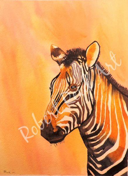 """""""Zebra"""" - SOLD"""