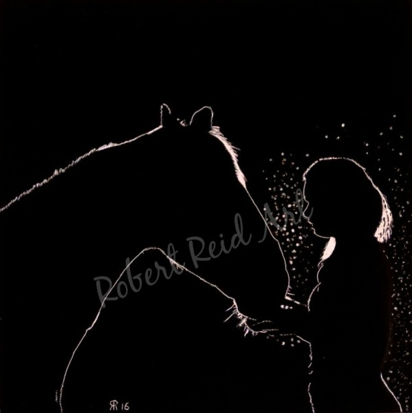 """""""A Girl and her Horse"""" - FOR SALE"""
