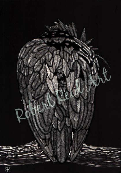 """""""Diabolical Crow"""" - FOR SALE"""