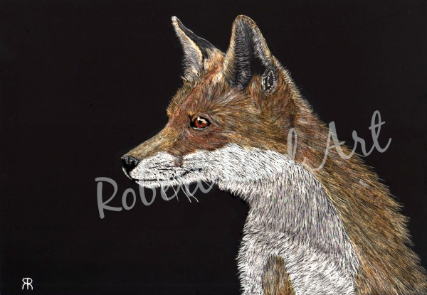 """""""Red Fox"""" - SOLD"""