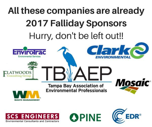 Falliday Sponsors 2017
