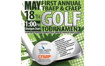 1st Annual TBAEP & CFAEP Golf Tournament Fundraiser