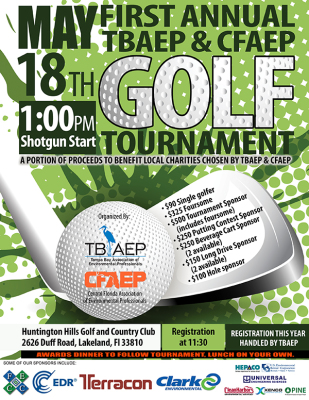 TBAEP & CFAEP Golf Tournament Postponed: New Date Coming Soon!