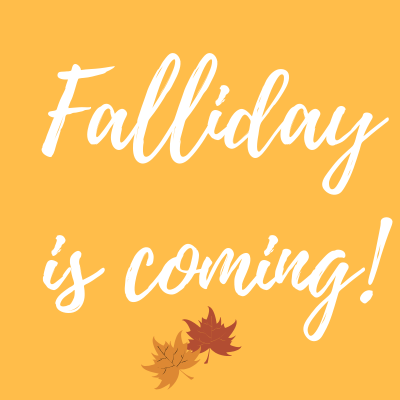 Save The Date For Falliday