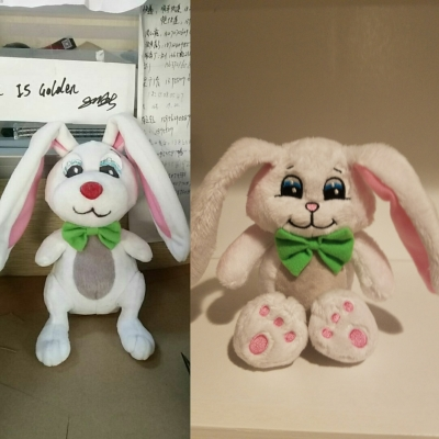 Evolution of Peek-a-Bunny