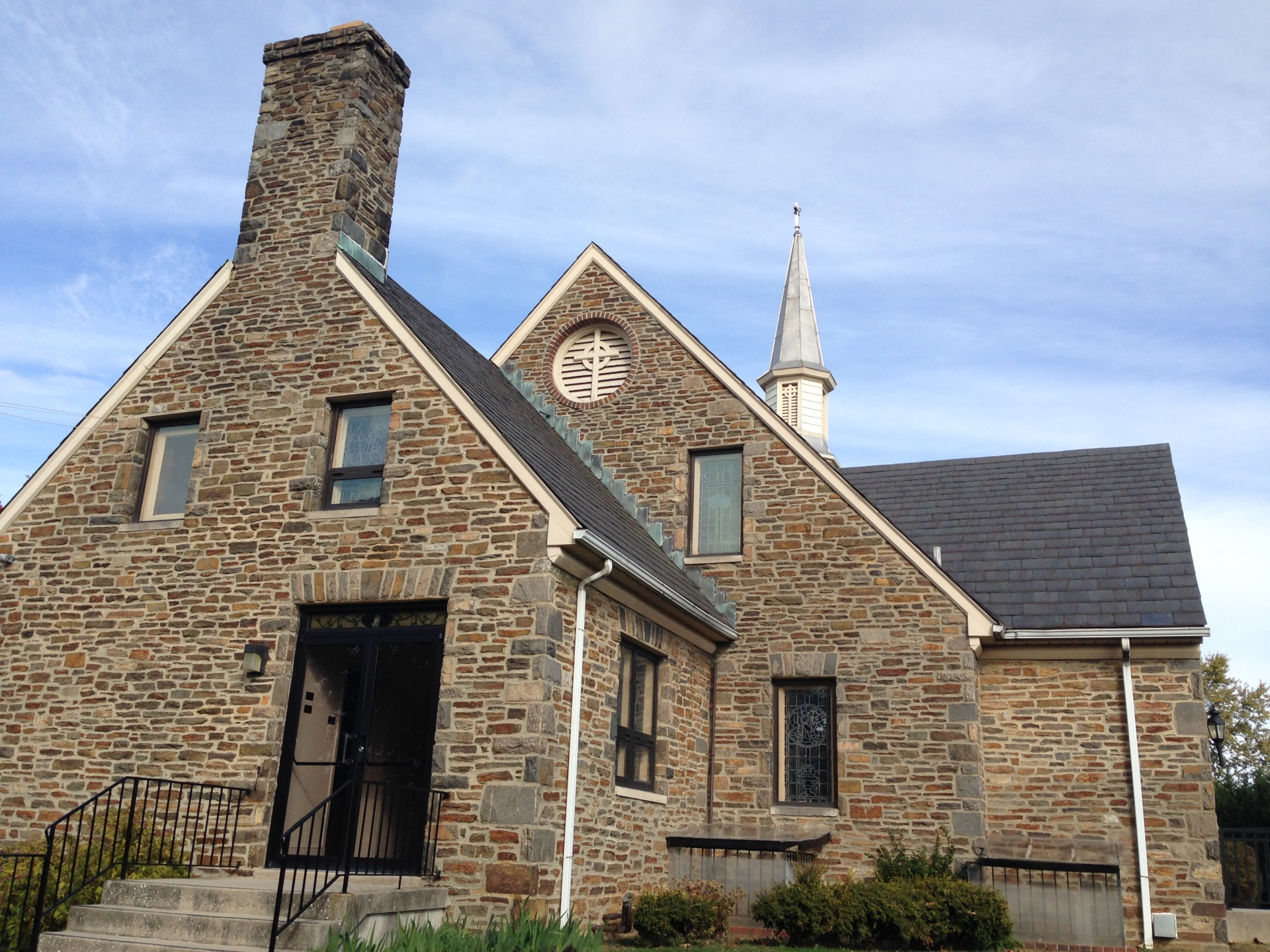 Church building entrance