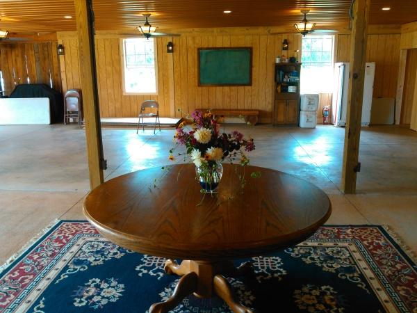 Main Room in the Barn