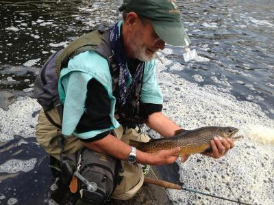August angling in the Adirondacks