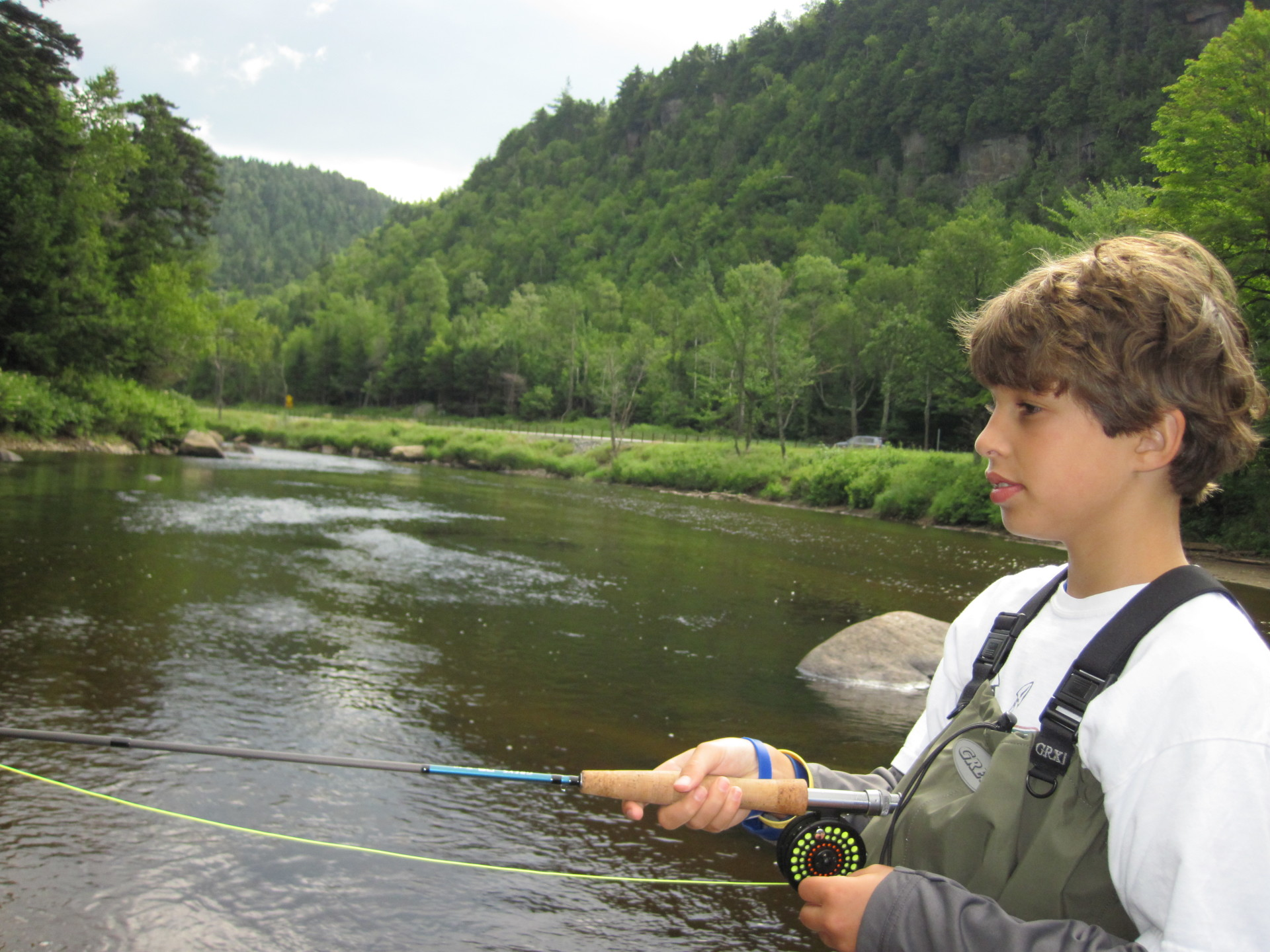 Fishing the West Branch AuSable River