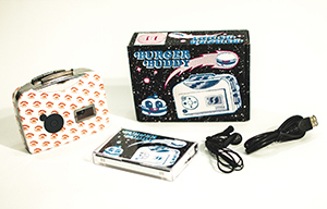 BURGER BUDDY CASSETTE PLAYER + MP3 CONVERTER