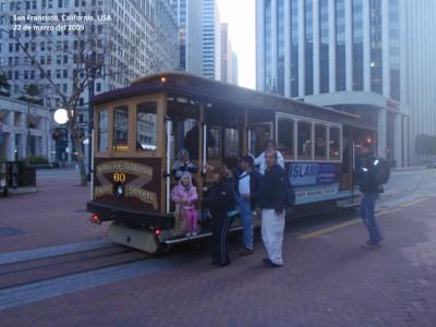 Trolley through San Francisco, California!