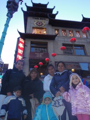 China Town in San Francisco, California, USA