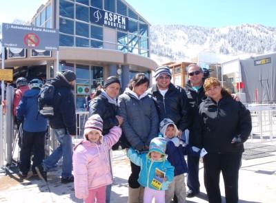 On top of the world! Aspen, Colorado!
