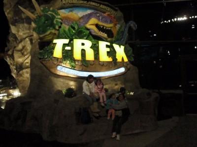 T-Rex Café in Kansas City, Missouri, USA