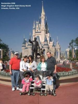 Thanksgiving 2008 at Disney World