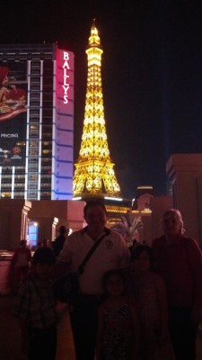 Paris at Las Vegas, Nevada!