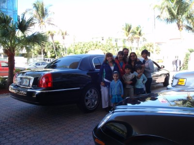 Limo to Royal Caribbean Cruise Allure of the Seas