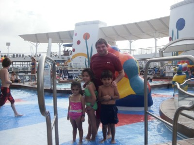 Water park on-board Allure of the Seas