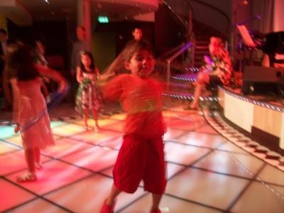 Night club for kiddos on-board Allure of the Seas!