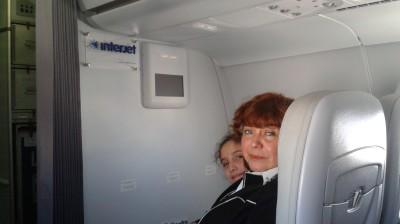 We love flying first class!