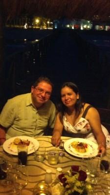 Romantic anniversary dinner at Vidanta