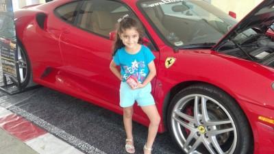 A Ferrari rental!