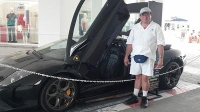 A Lamborghini rental!