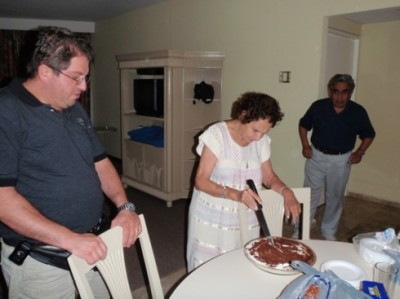 Grandma's birthday!