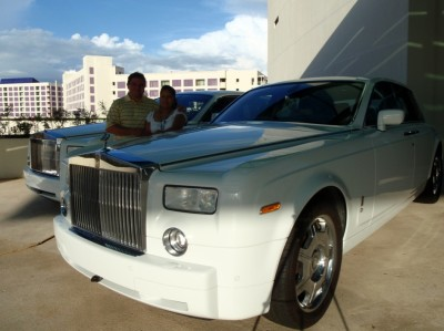 Get picked up at the airport in style! Rolls Royce Phantom!