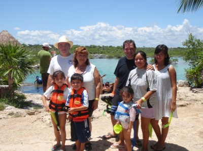 The 7 Color Lagoon of Bacalar and Cenote Azul