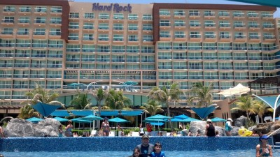 The Hard Rock Resort in Cancún