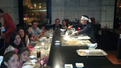 Japanese restaurant at the Moon Palace Resort