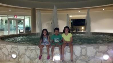 With friends at Westin Lagunamar Ocean Resort