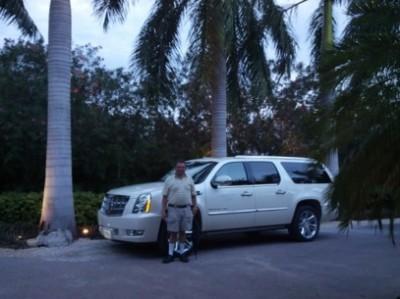 Lobby to Lobby VIP transportation in a Lincoln Navigator!