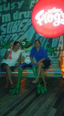 The Famous Señor Frogs