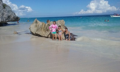 One of the best Caribbean beaches!