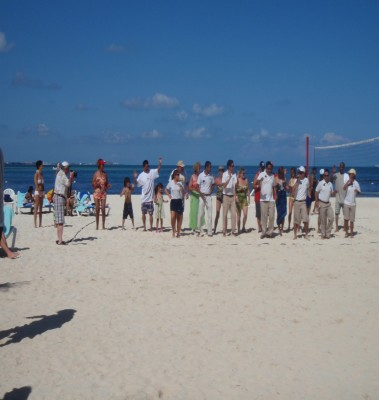 Welcome Party at The Royal Cancun Resort