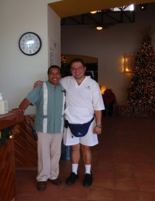 The best service in Cancún starts with the Bellboy Captain once you arrive!