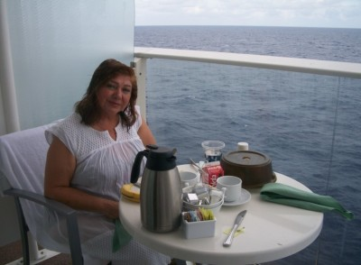 On board the Allure of the Seas