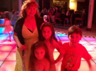Family night club on board the Allure of the Seas
