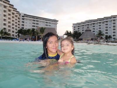 Sisters quality time at Casa Maya Resort!