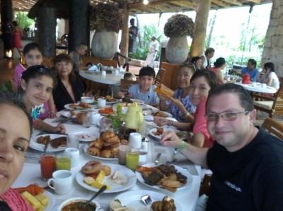 One of the best breakfast buffets in the region!