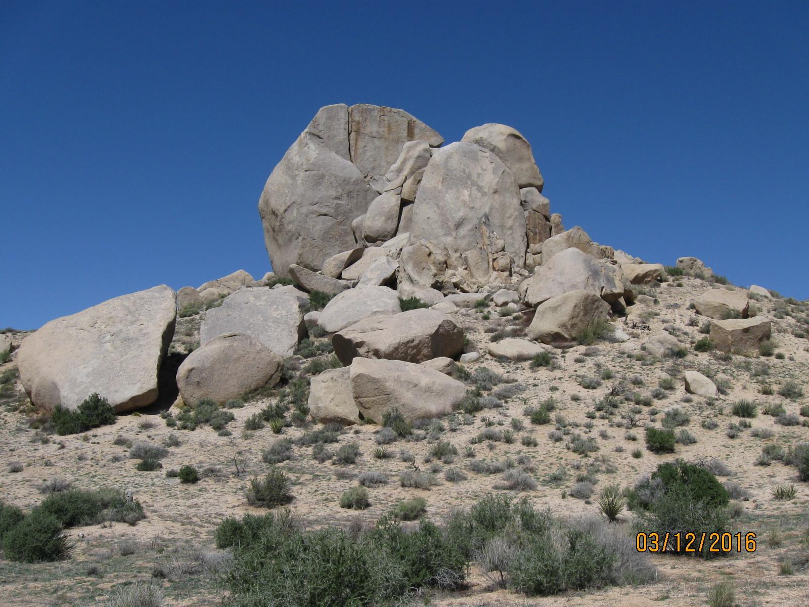 beautiful rock formation in Juniper Flats