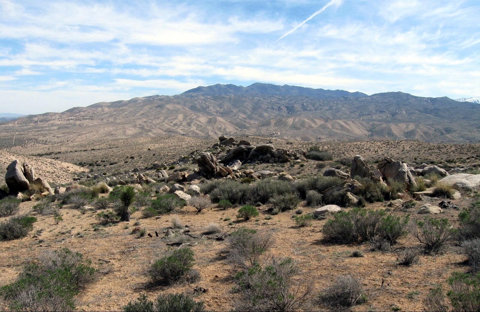 mountain scene in Juniper Flats