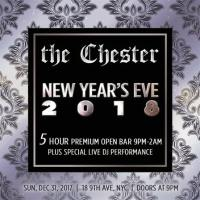 NYE, The Chester