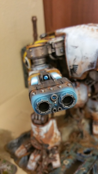 Warhound Titan Plasma Blastgun
