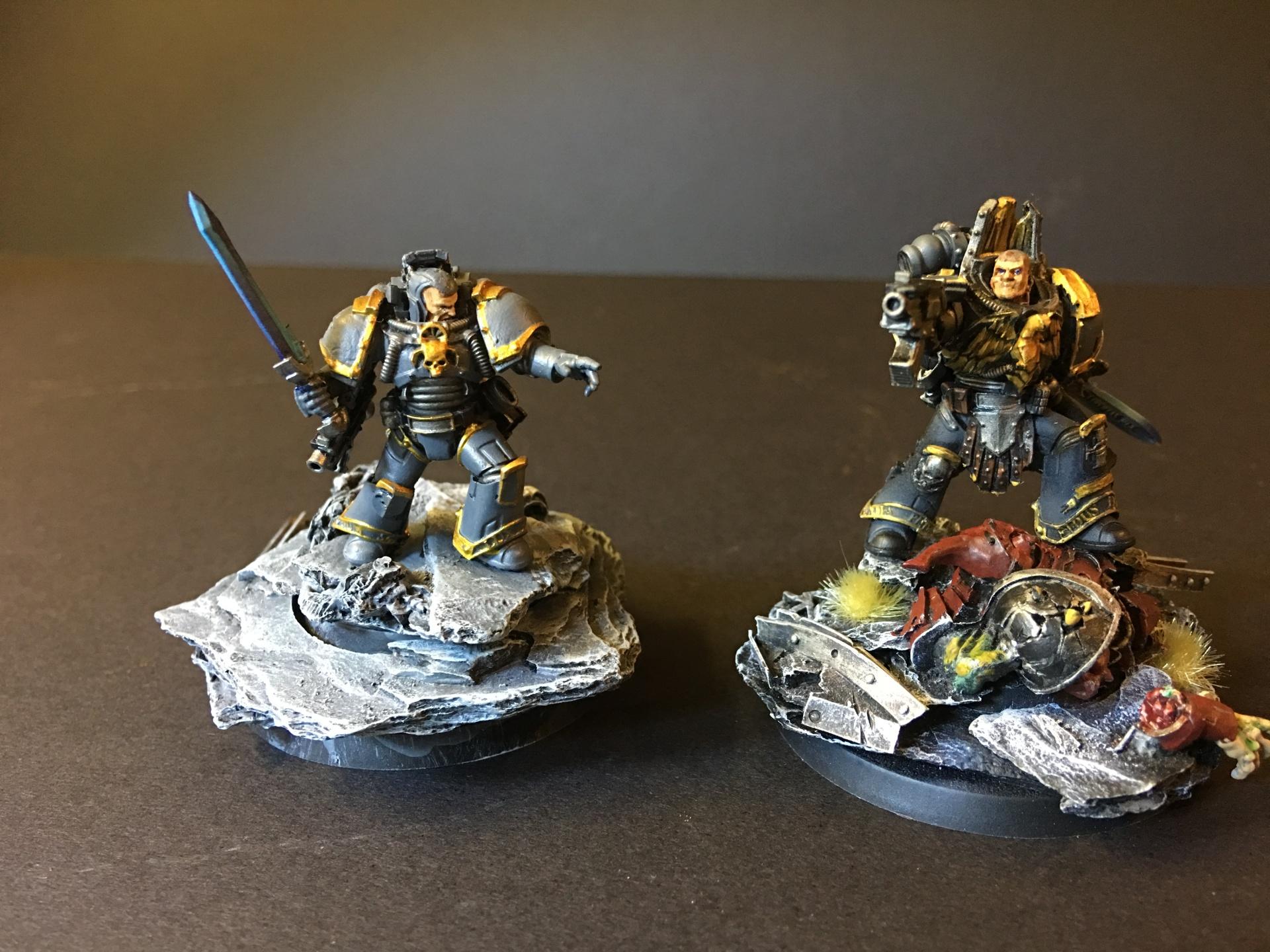 Nathaniel Garro and Tylos Rubio - Knights-Errant!